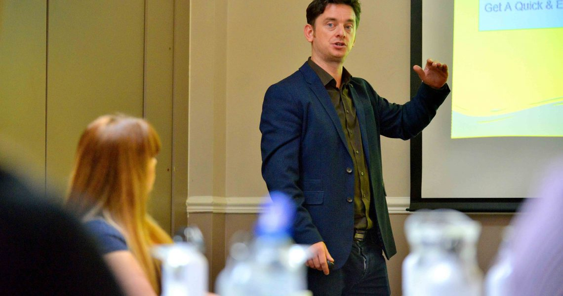 Grow Your Business Online Free Digital Marketing Event - September 2019 MNA Digital - Matthew Fowell Head of Paid Search Presenting