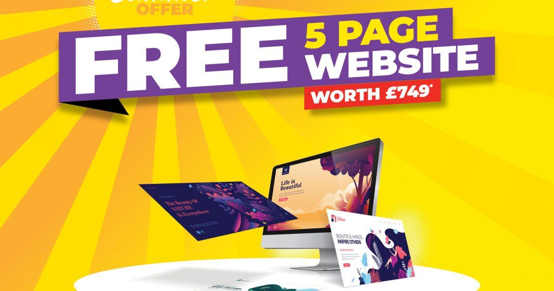 free 5 page website_landingpage